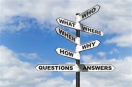 Questions Sign Allen White God Is All