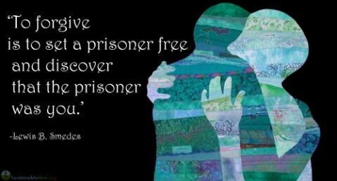 hugging and forgiveness