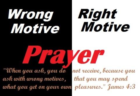 Wrong motive